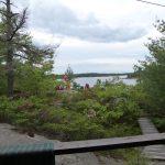pent deck view